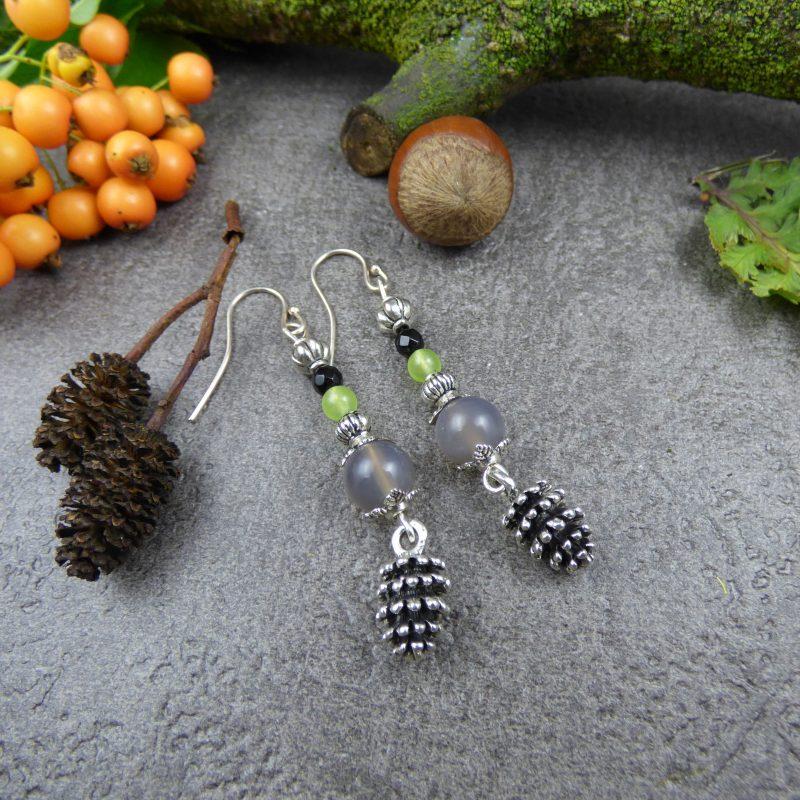 bijoux inspirés de la nature, en pierres naturelles, poétique