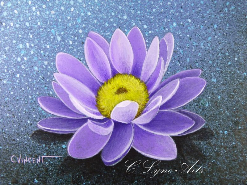 coffret a bijoux avec une fleur de lotus