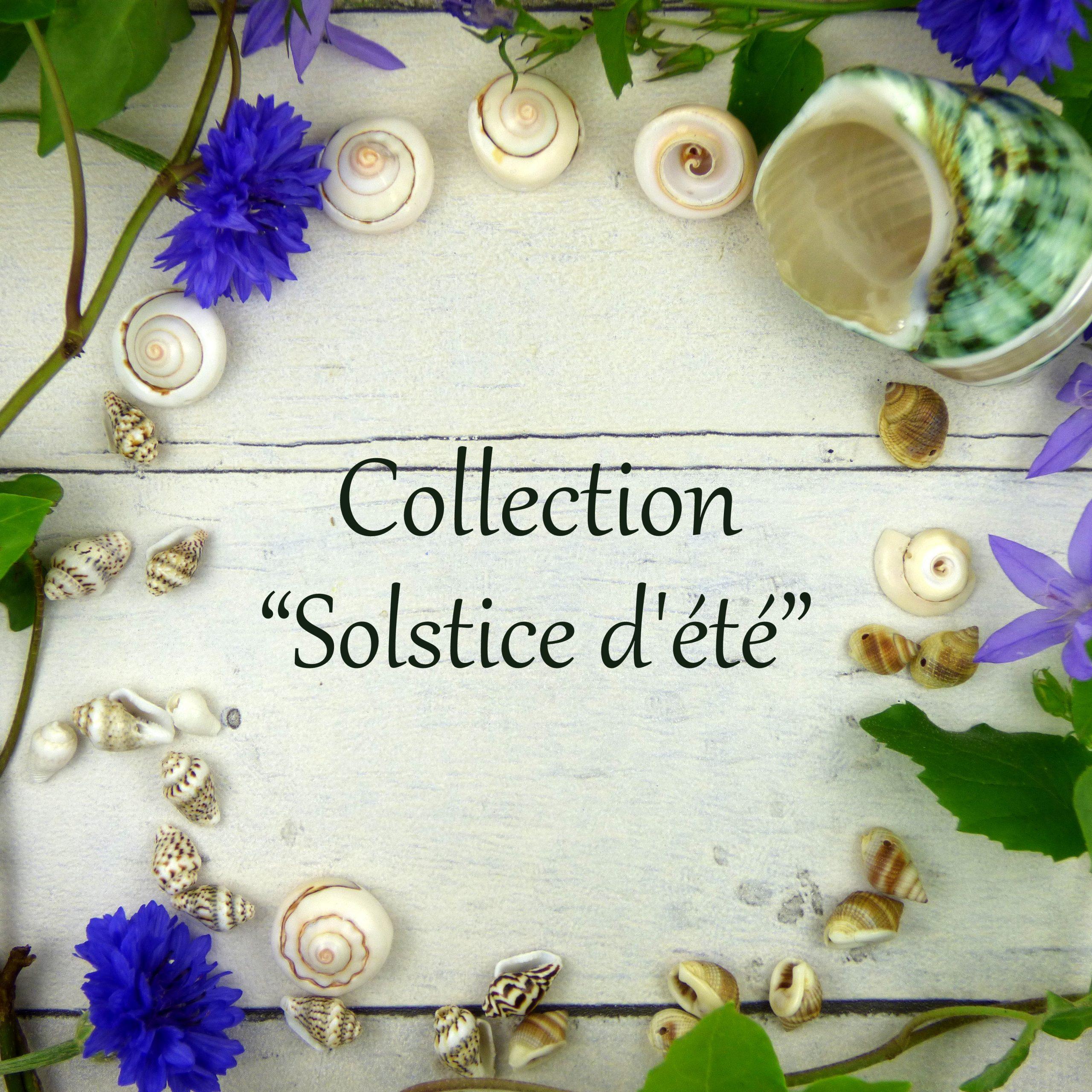collection de bijoux été coquillage