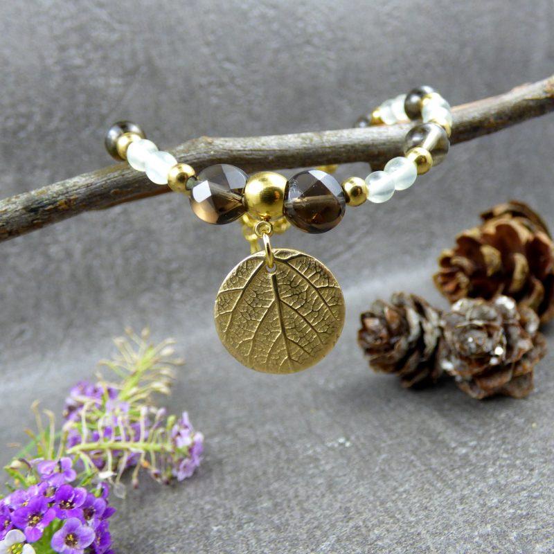 bracelet fait main en pierres naturelles